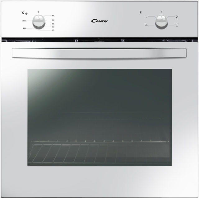 Candy FCS201W Built In Electric Single Oven - White - A Rated - FCS201W_WH - 1