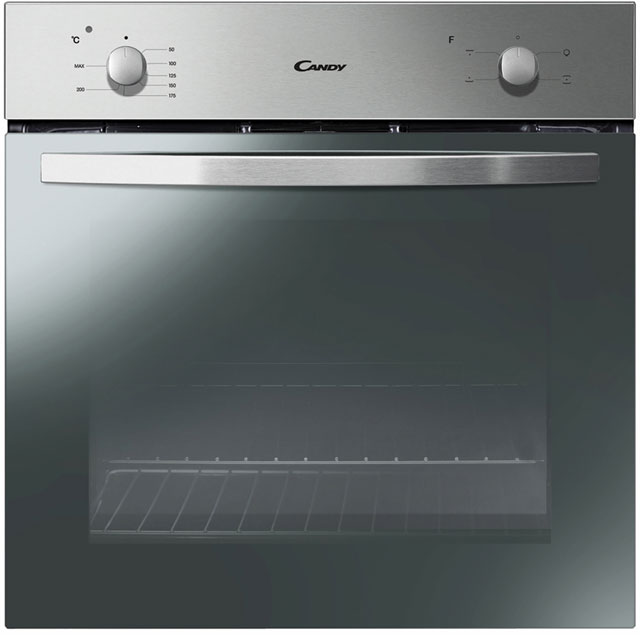 Candy FCS201X Built In Electric Single Oven - Stainless Steel - A Rated - FCS201X_SS - 1