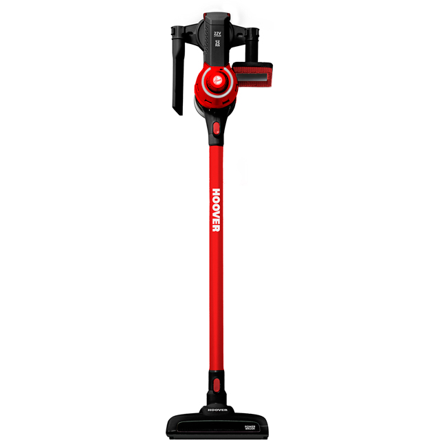Hoover Freedom FD22BR Cordless Vacuum Cleaner in Black / Red