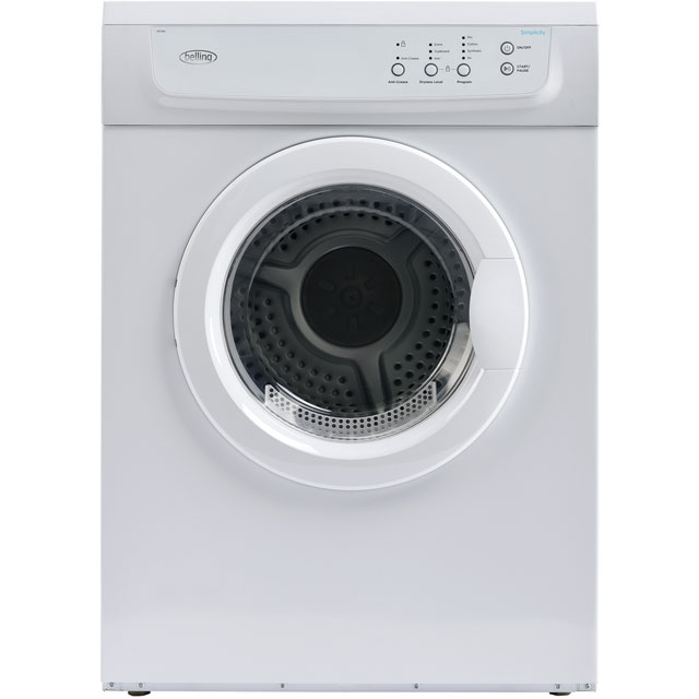 Belling Simplicity FD700 Free Standing Vented Tumble Dryer in White