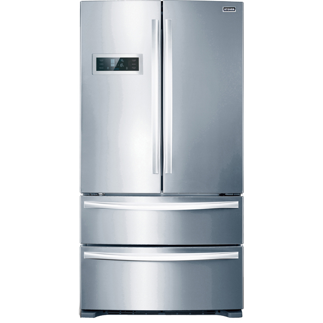 Stoves FD90SS American Fridge Freezer - Stainless Steel - A+ Rated