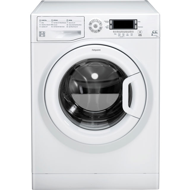 Hotpoint Ultima FDD9640P 9Kg / 6Kg Washer Dryer with 1400 rpm - White