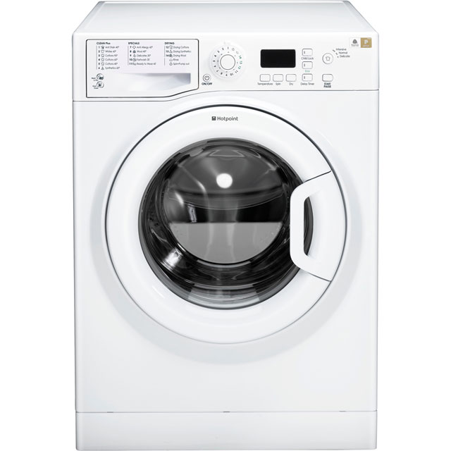 Hotpoint FDL8640PUK 8Kg / 6Kg Washer Dryer with 1400 rpm - White - A Rated - FDL8640PUK_WH - 1