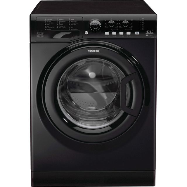 Hotpoint Ultima FDL9640K 9Kg / 6Kg Washer Dryer with 1400 rpm - Black - A Rated