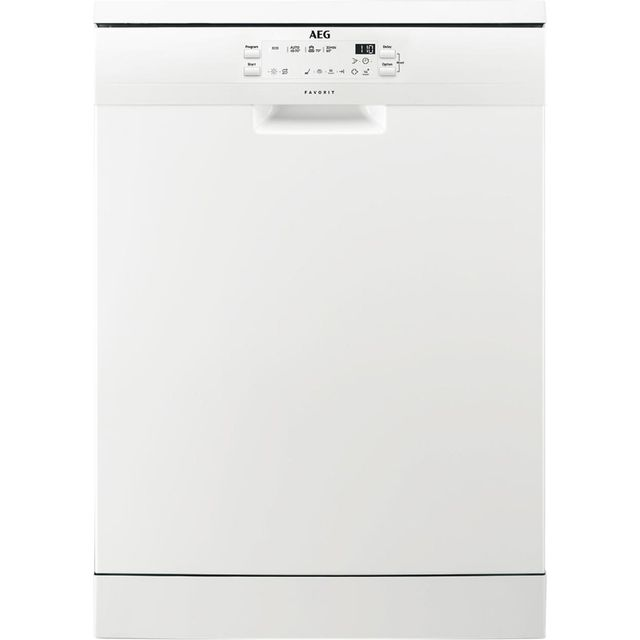 AEG FFB41600ZW Standard Dishwasher - White - A+ Rated Best Price, Cheapest Prices