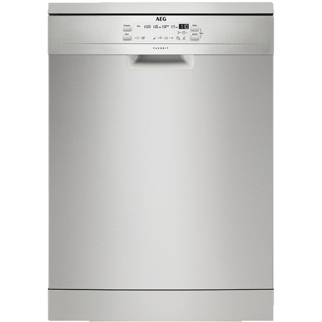 AEG FFB53600ZM Free Standing Dishwasher in Stainless Steel