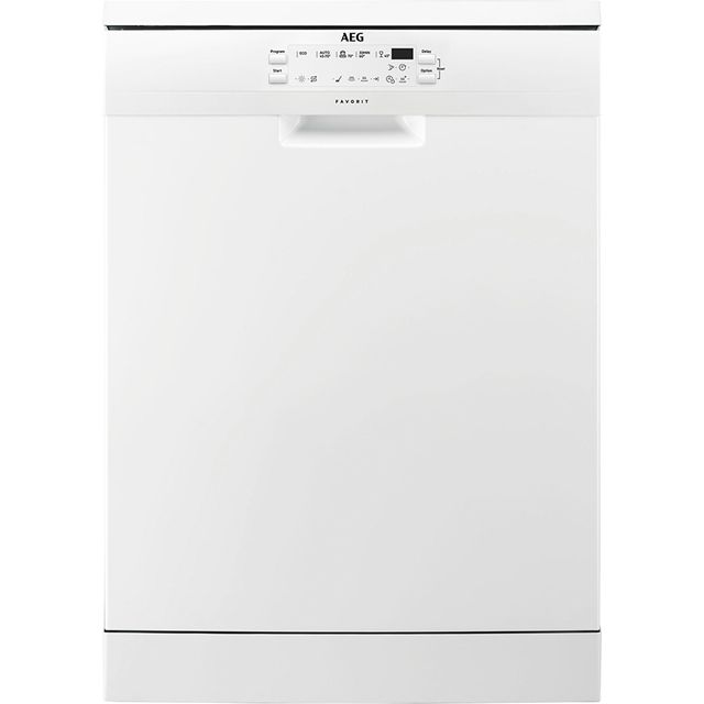 AEG FFB53600ZW Standard Dishwasher - White - A+++ Rated Best Price, Cheapest Prices