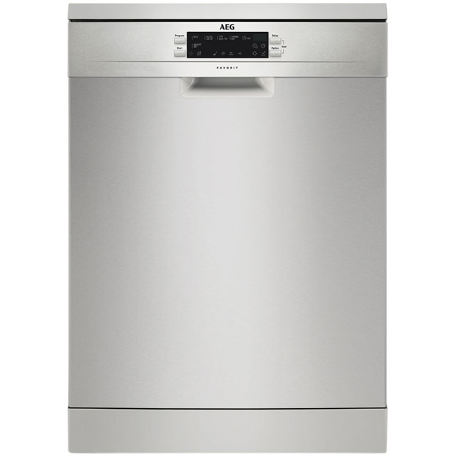 AEG FFE62620PM Standard Dishwasher - Stainless Steel - A++ Rated Best Price, Cheapest Prices