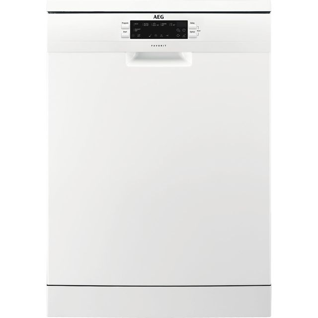 AEG FFE62620PW Standard Dishwasher - White - A++ Rated - FFE62620PW_WH - 1