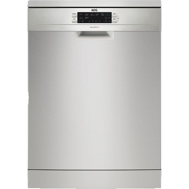 AEG FFE63700PM Standard Dishwasher - Stainless Steel - A+++ Rated - FFE63700PM_SS - 1