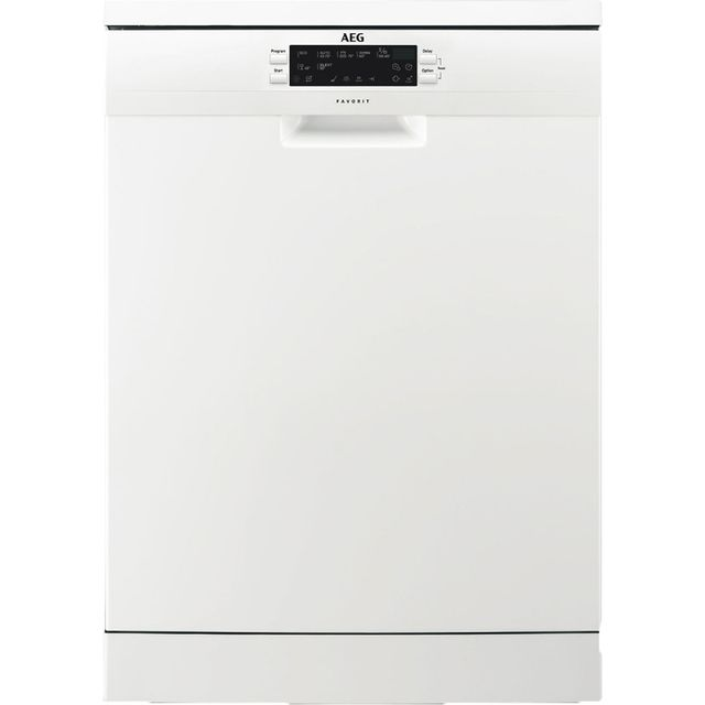 AEG FFE63700PW Standard Dishwasher - White Best Price, Cheapest Prices