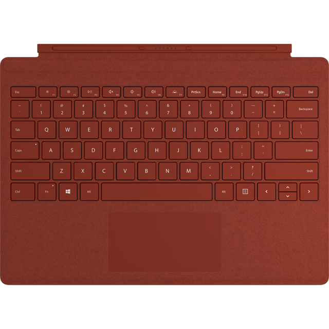 Microsoft Surface Pro Type Cover - Poppy Red Alcantara - FFP-00103 - 1