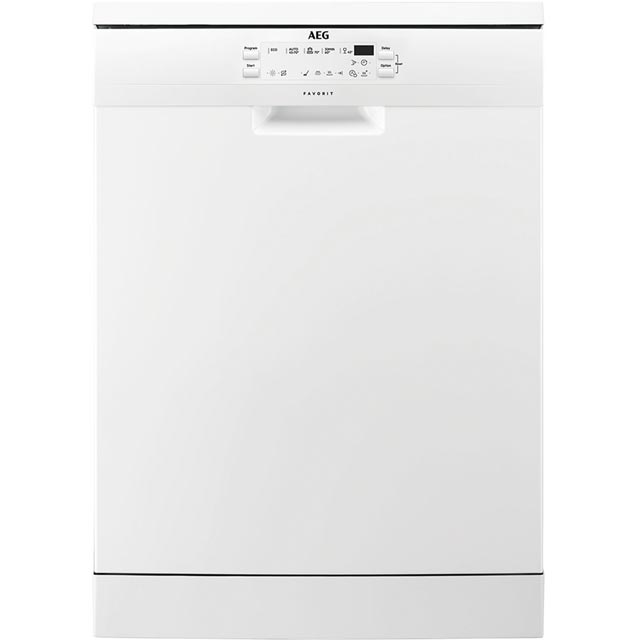 AEG FFS5260LZW Standard Dishwasher - White Best Price, Cheapest Prices