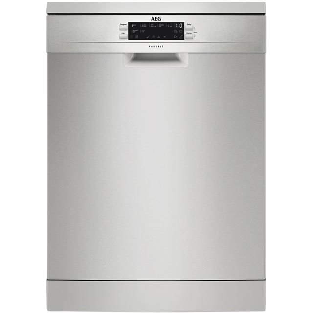 AEG FFS6360LPM Standard Dishwasher - Stainless Steel Best Price, Cheapest Prices