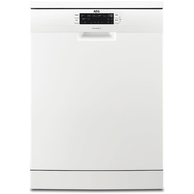 AEG FFS6360LPW Standard Dishwasher - White Best Price, Cheapest Prices