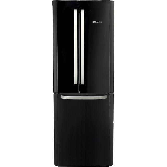 Hotpoint FFU3DGK Fridge Freezer - Black