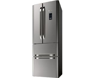 Hotpoint Multi Temperature Zone FFU4DGXMTZ American Fridge Freezer - Stainless Steel