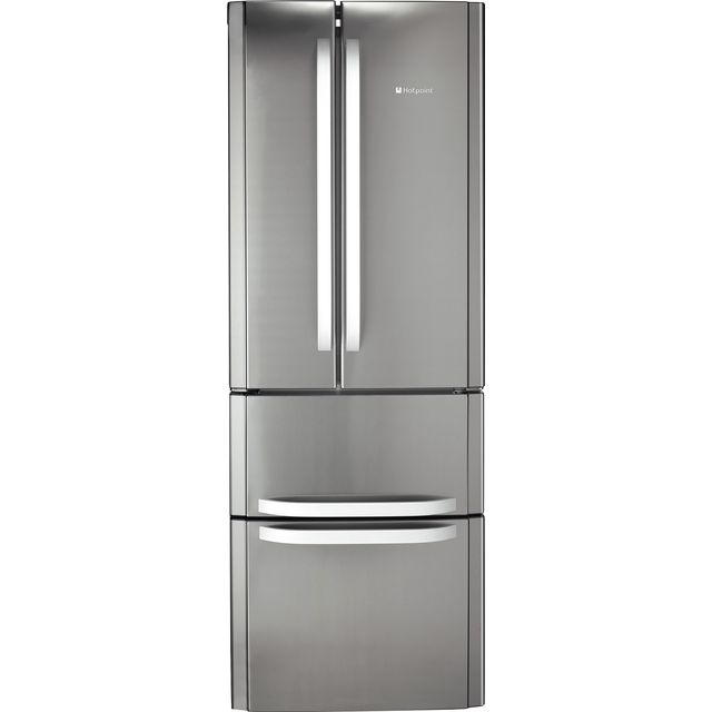 Hotpoint FFU4DX1 Fridge Freezer - Stainless Steel Effect - FFU4DX1_SSL - 1