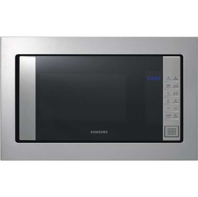 Samsung FG87SUST Built In Compact Microwave With Grill - Stainless Steel