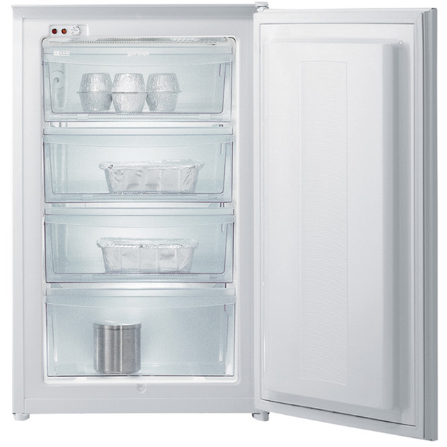 Gorenje Essential Line FI4091AW Integrated Upright Freezer with Sliding Door Fixing Kit - A+ Rated - FI4091AW_WH - 1
