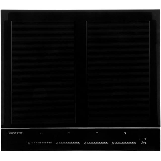 Fisher & Paykel CI604DTB3 60cm Induction Hob - Black - CI604DTB3_BK - 1