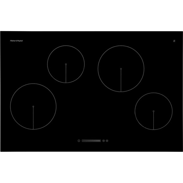 Fisher & Paykel CI804CTB1 80cm Induction Hob - Black - CI804CTB1_BK - 1