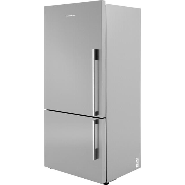 Fisher & Paykel Designer ActiveSmart E522BLXFD4 75/25 Frost Free Fridge Freezer - Stainless Steel - A+ Rated - E522BLXFD4_SS - 1