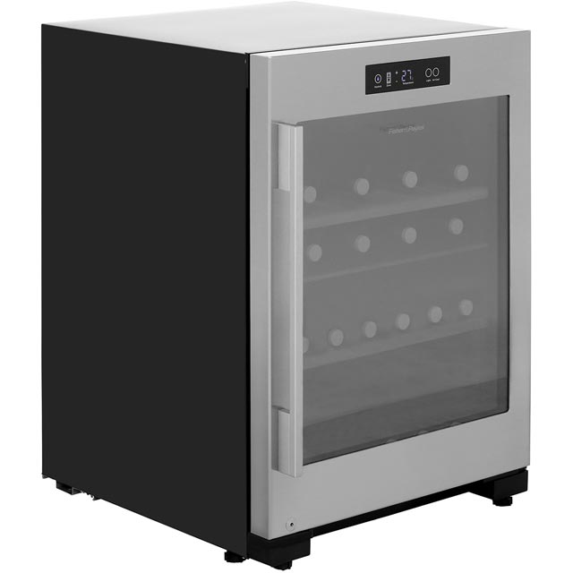 Fisher & Paykel RF106RDWX1 Wine Cooler - Stainless Steel - B Rated - RF106RDWX1_SS - 1