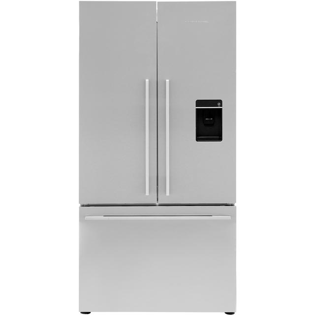 Fisher & Paykel Designer ActiveSmart RF540ADUX4 American Fridge Freezer - Stainless Steel - A+ Rated