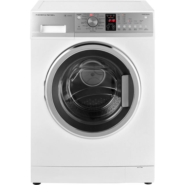 Fisher & Paykel WM1480P1 8Kg Washing Machine with 1400 rpm - White - A+++ Rated - WM1480P1_WH - 1