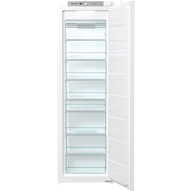Hisense FIV276N4AW1 Integrated Frost Free Upright Freezer - A+ Rated - FIV276N4AW1_WH - 1