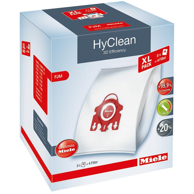 Miele Hyclean 3D Efficiency Dustbag FJM XL Pack - FJM XL - 1