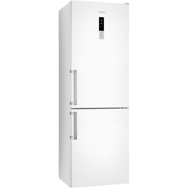 Image of Amica Free Standing Fridge Freezer Frost Free in White