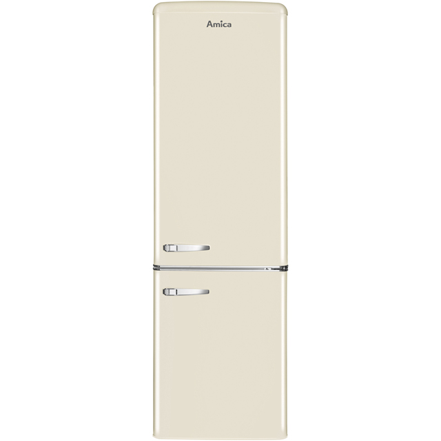 Amica FKR29653C 60/40 Fridge Freezer - Cream - A+ Rated - FKR29653C_CR - 1