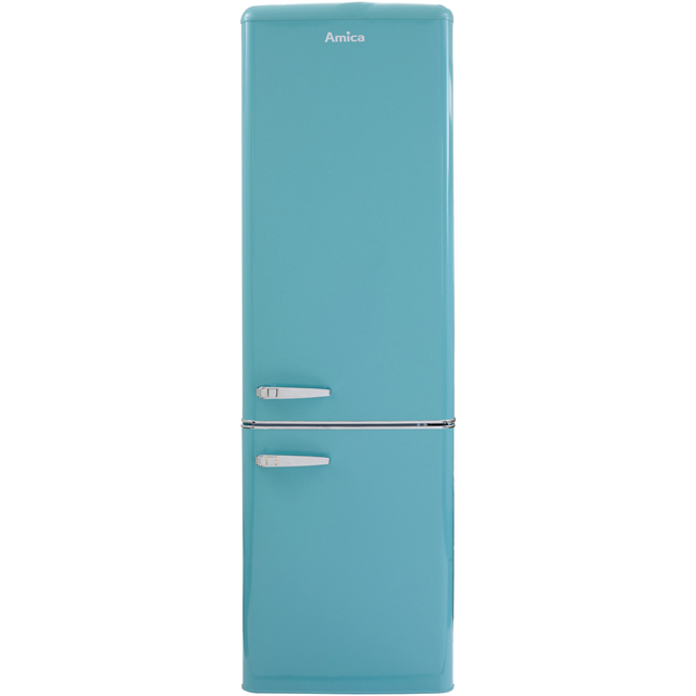 Amica FKR29653DEB 60/40 Fridge Freezer - Duck Egg Blue - A+ Rated - FKR29653DEB_DEB - 1