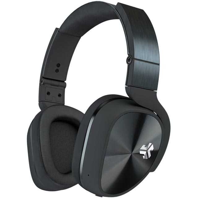 JLAB Flex Over-ear Wireless Headphones - Black