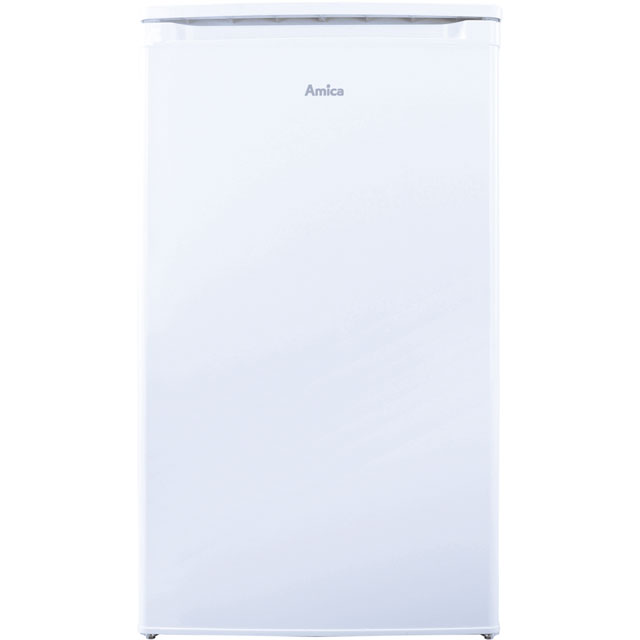 Amica FM1044 Fridge - White - A+ Rated - FM1044_WH - 1