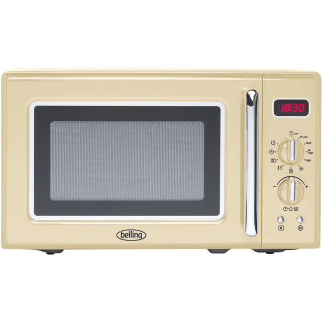 Belling FMR2080S 20 Litre Microwave - Cream