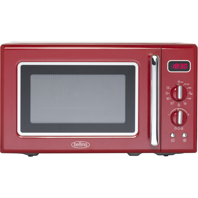 Belling FMR2080S 20 Litre Microwave - Red