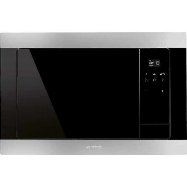 Smeg Classic FMI320X Built In Microwave With Grill