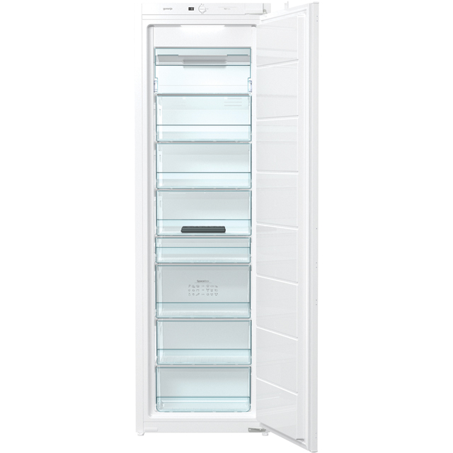 Gorenje FNI4181E1UK Integrated Frost Free Upright Freezer with Sliding Door Fixing Kit - A+ Rated - FNI4181E1UK_WH - 1