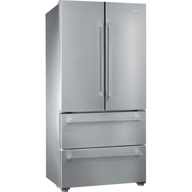 Smeg FQ55FX1 American Fridge Freezer - Stainless Steel - A+ Rated - FQ55FX1_SS - 1