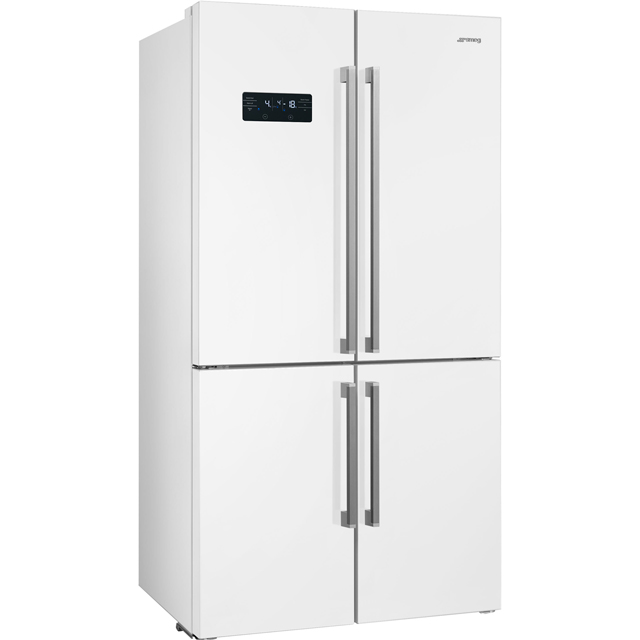 Smeg FQ60B2PE1 American Fridge Freezer - White - A++ Rated