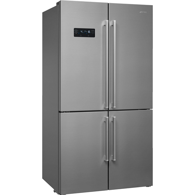 Smeg FQ60X2PEAI American Fridge Freezer - Stainless Steel - A++ Rated - FQ60X2PEAI_SS - 1