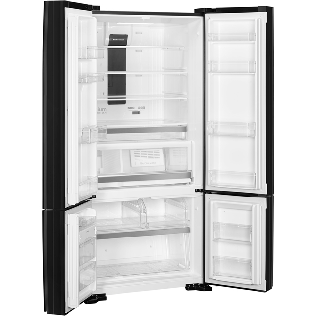 Smeg FQ70GBE American Fridge Freezer - Black - FQ70GBE_BK - 3