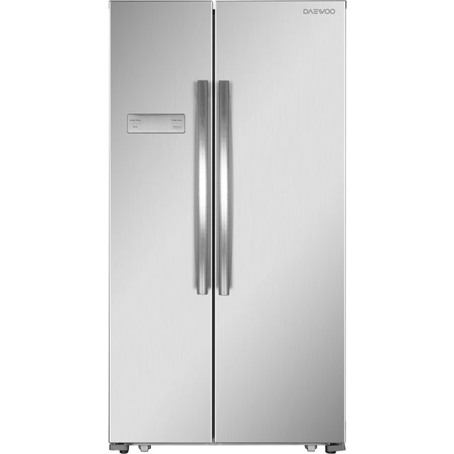 Daewoo FRAH52B3S American Fridge Freezer - Silver - A+ Rated