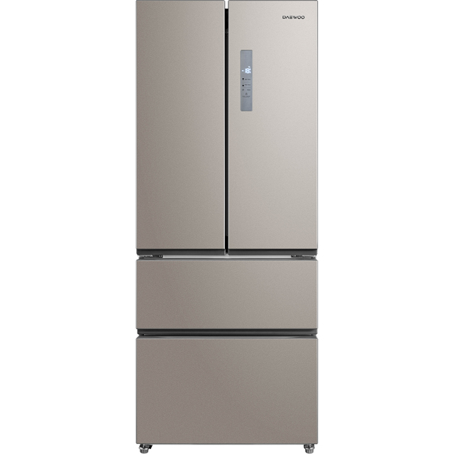 Daewoo FRAM40F3S American Fridge Freezer - Silver - A+ Rated