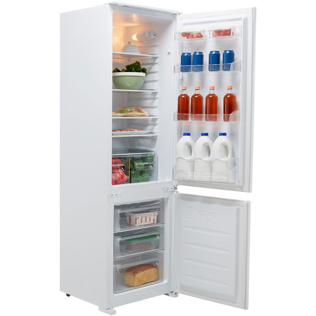 Fridgemaster MBC55275 Built In Fridge Freezer - White - MBC55275_WH - 1