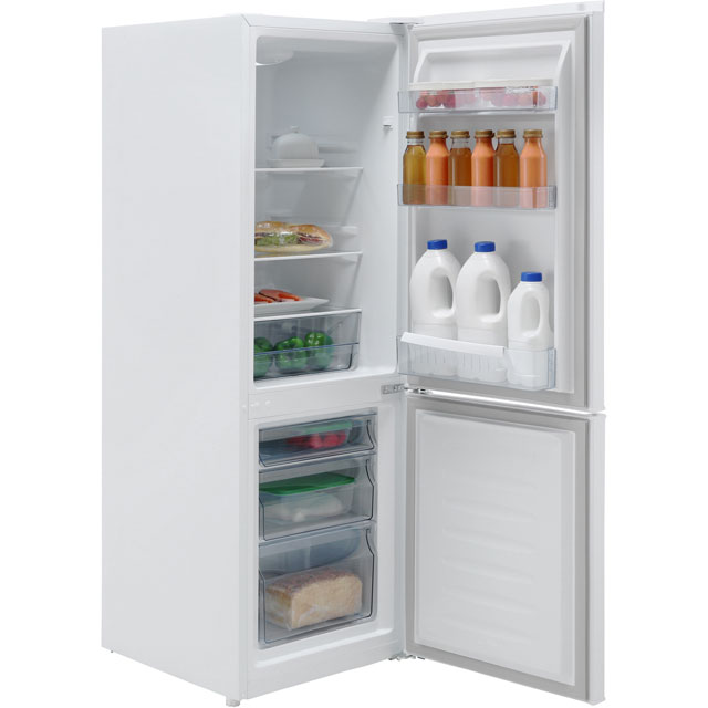 Fridgemaster MC50165S 60/40 Fridge Freezer - Silver - MC50165S_SI - 4