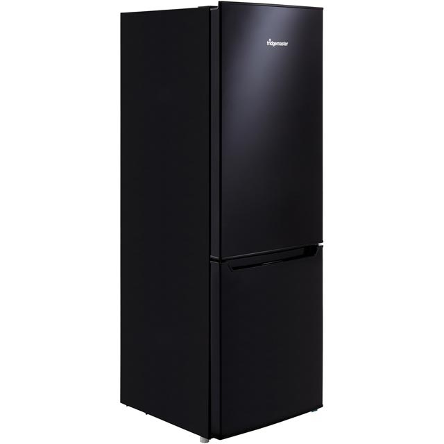 Fridgemaster MC50165B 60/40 Fridge Freezer - Black - A+ Rated Best Price, Cheapest Prices